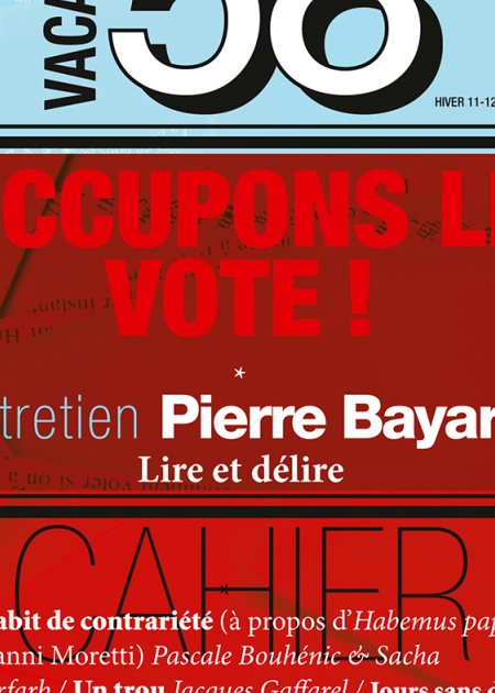 Occupons le vote
