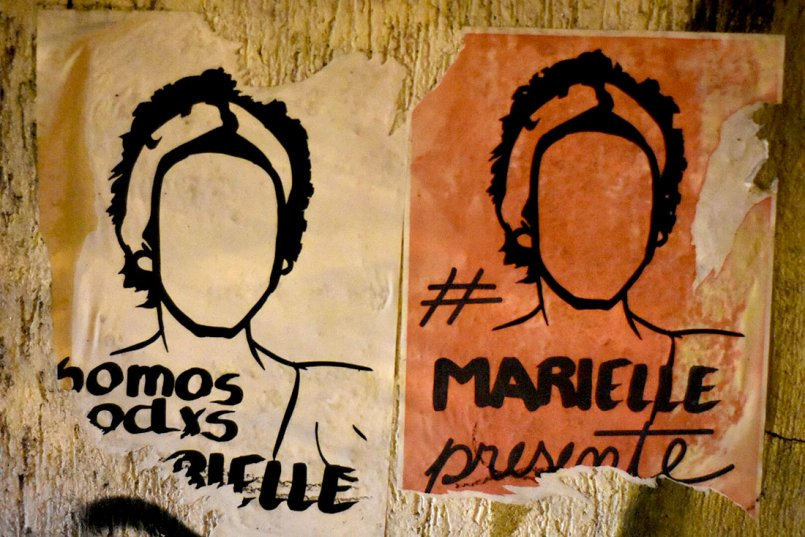 l'assassinat de Marielle Franco